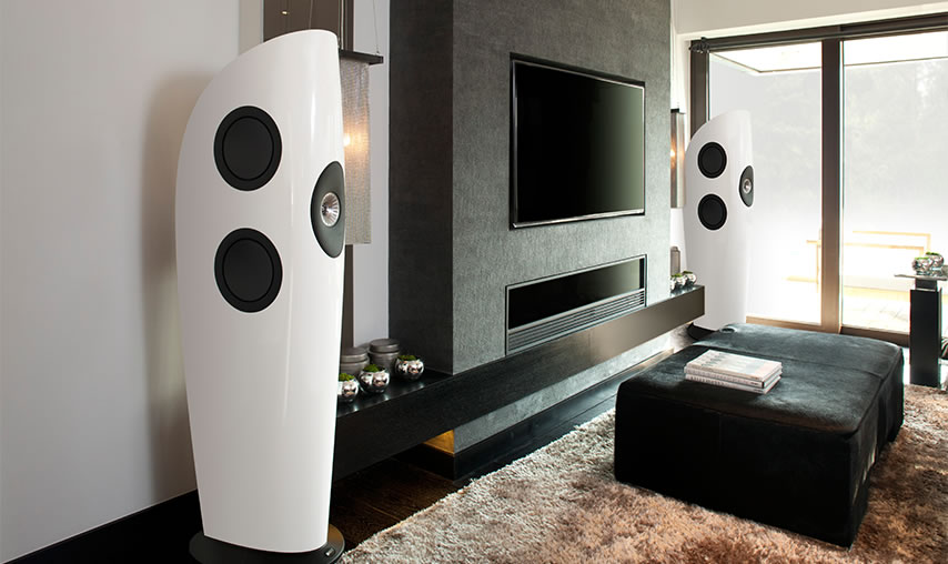 KEF_Blade_White_Lifestyle Product Lines